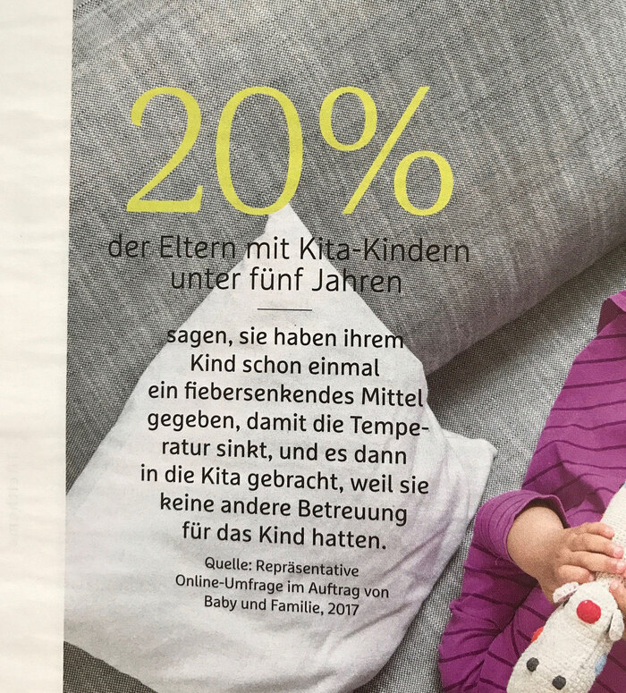 Baby & Familie magazine, 2017 redesign 3