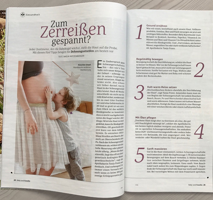 Baby & Familie magazine, 2017 redesign 5