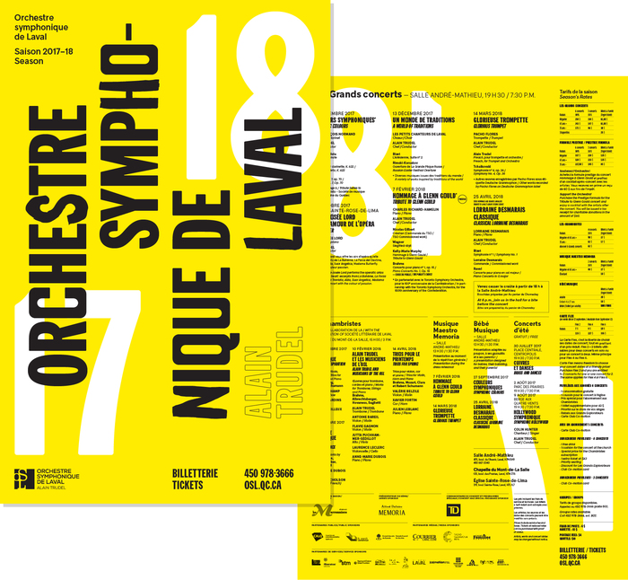 Laval Symphonic Orchestra 2017–18 Season 1