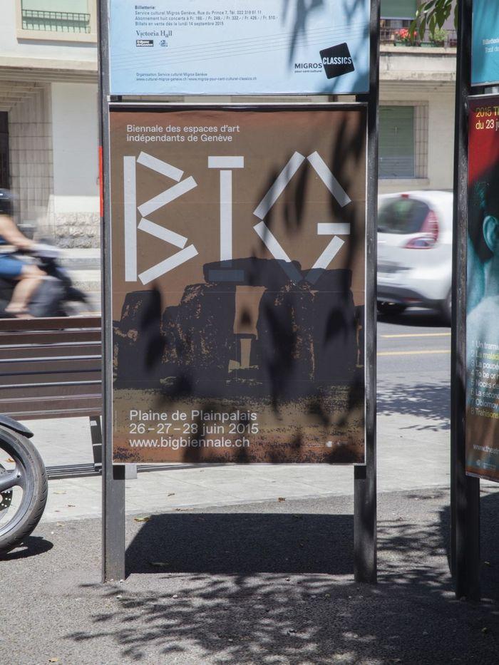 BIG – Biennale des espaces d'art indépendants Genève 1