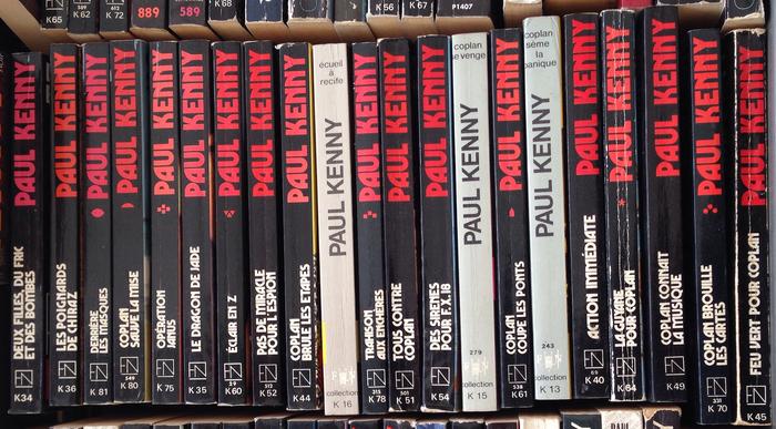 Paul Kenny paperbacks, Fleuve Noir 6