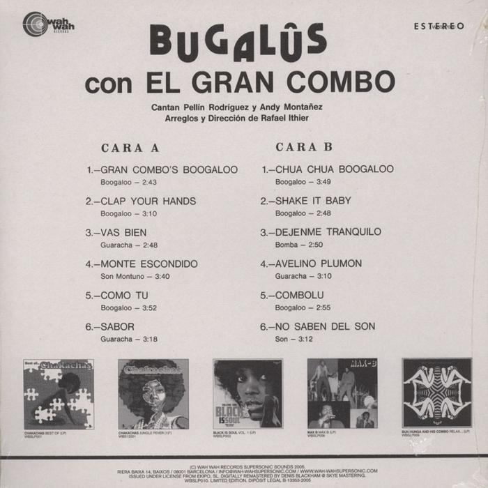 El Gran Combo – Bugalûs con El Gran Combo 3
