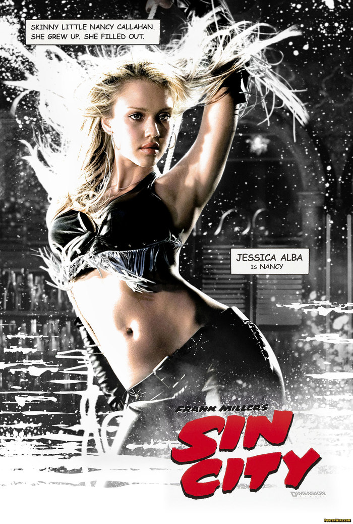 Sin City  (2005) film posters 1