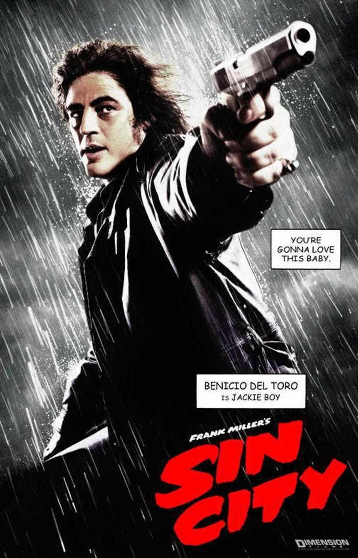 Sin City  (2005) film posters 2