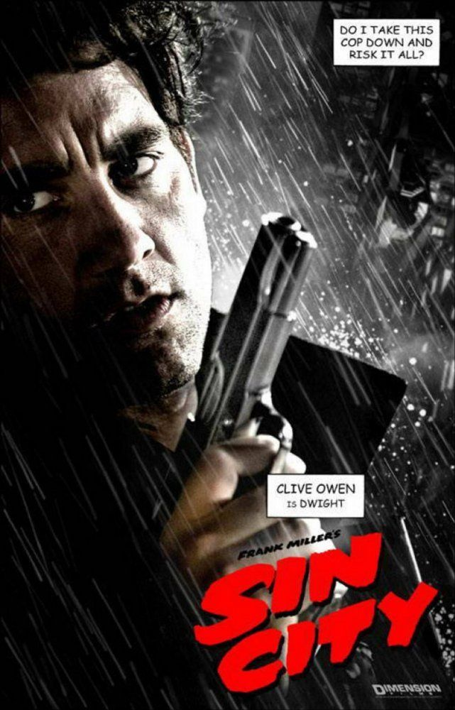 Sin City  (2005) film posters 3