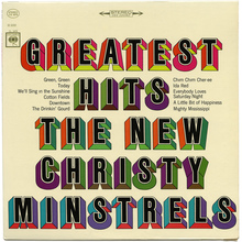 The New Christy Minstrels – <cite>Greatest Hits </cite>album art