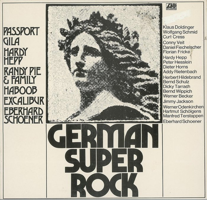 Various Artists – German Super Rock album art
