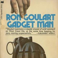 <cite>Gadget Man</cite> by Ron Goulart, Paperback Library