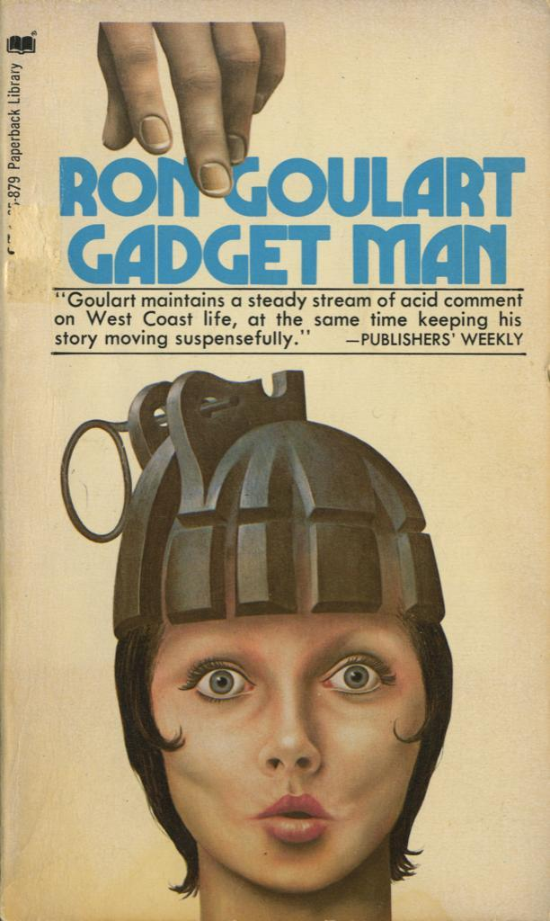 Gadget Man by Ron Goulart, Paperback Library