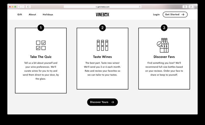 Vinebox website 5