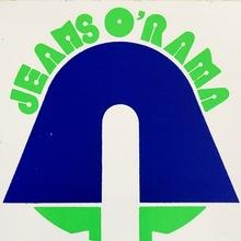 Jeans O'Rama logo sticker