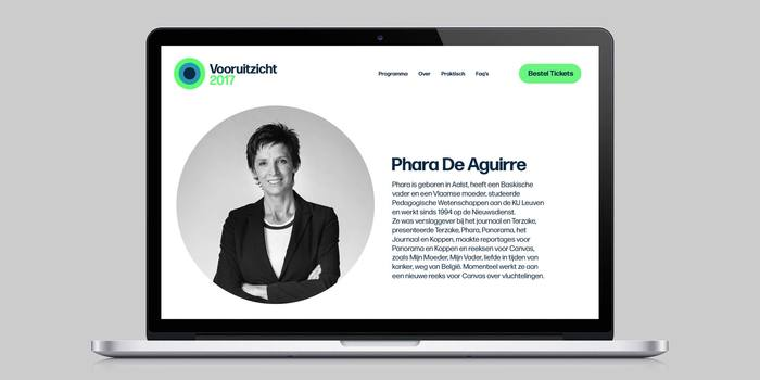 Belgian branding agency Today chose Forma DJR as the new face of national broadcast network VRT NWS.