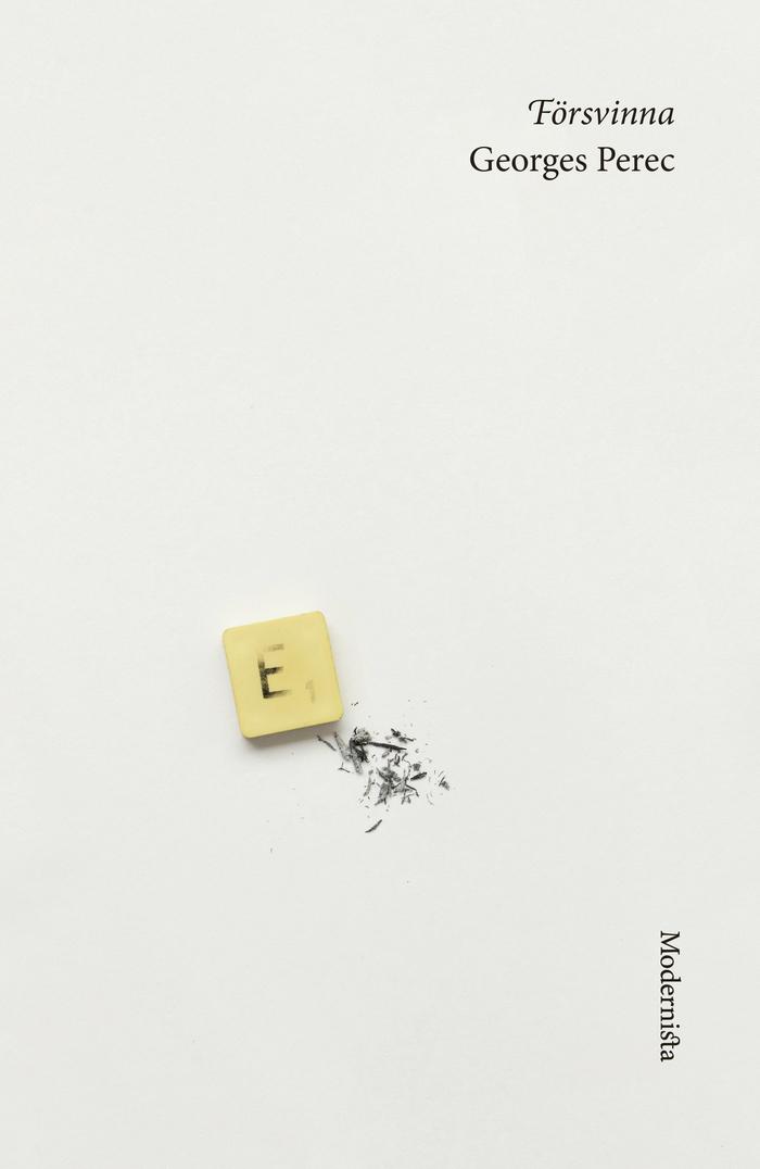 Georges Perec books, Modernista edition 6