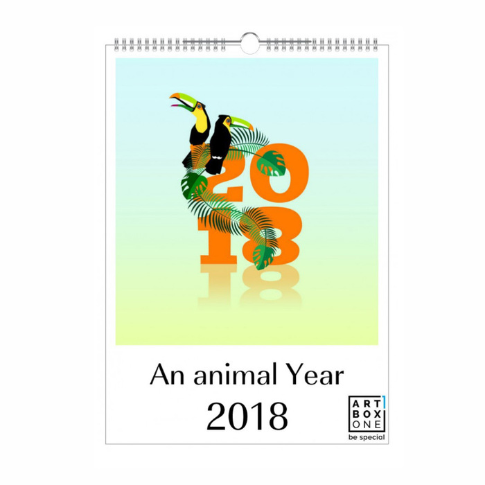 """An Animal Year"" calendar 1"