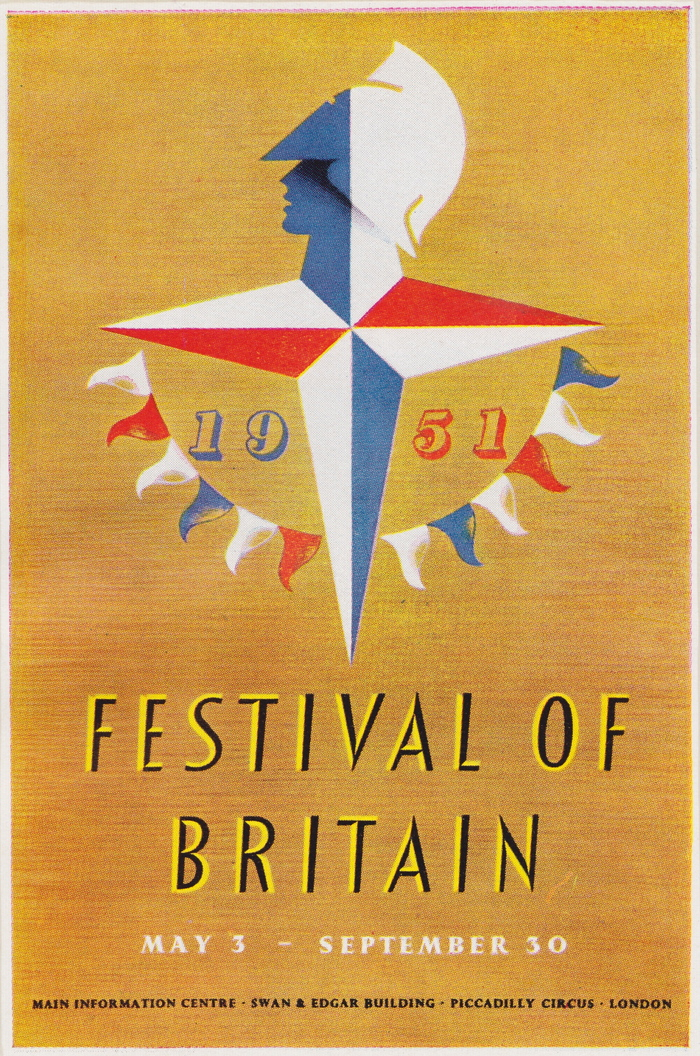 This 16 page guide, designed by the London Press Exchange, features the Festival Star motif by Abram Games.