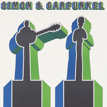 Simon &amp; Garfunkel at <span>Lincoln Center Philharmonic Hall concert poster</span>