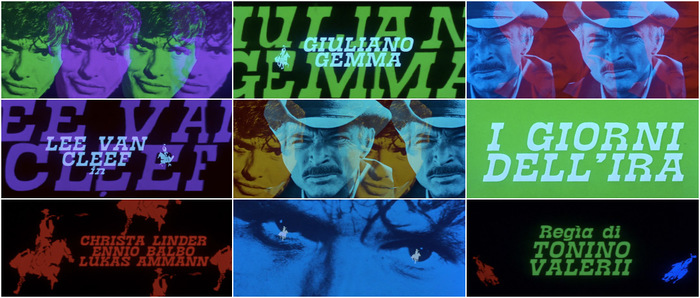 I giorni dell'ira (Day of Anger) opening titles 1