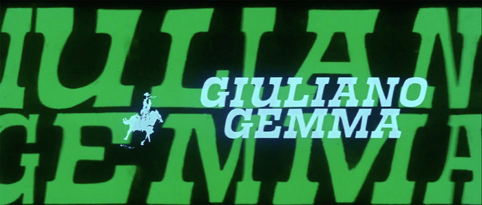 I giorni dell'ira (Day of Anger) opening titles 2