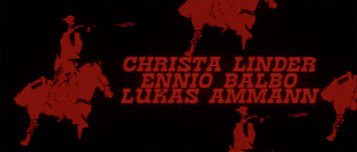 I giorni dell'ira (Day of Anger) opening titles 6