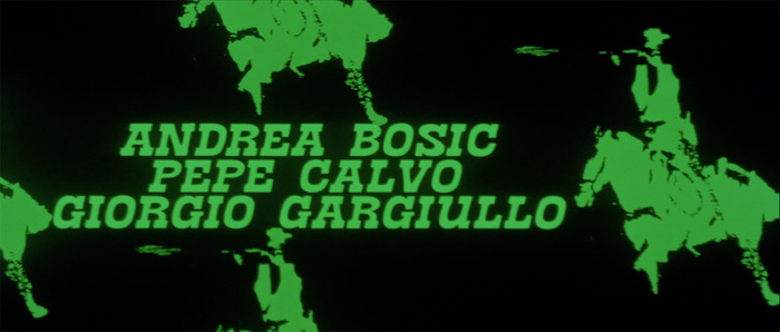 I giorni dell'ira (Day of Anger) opening titles 7