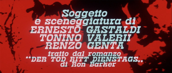 I giorni dell'ira (Day of Anger) opening titles 8