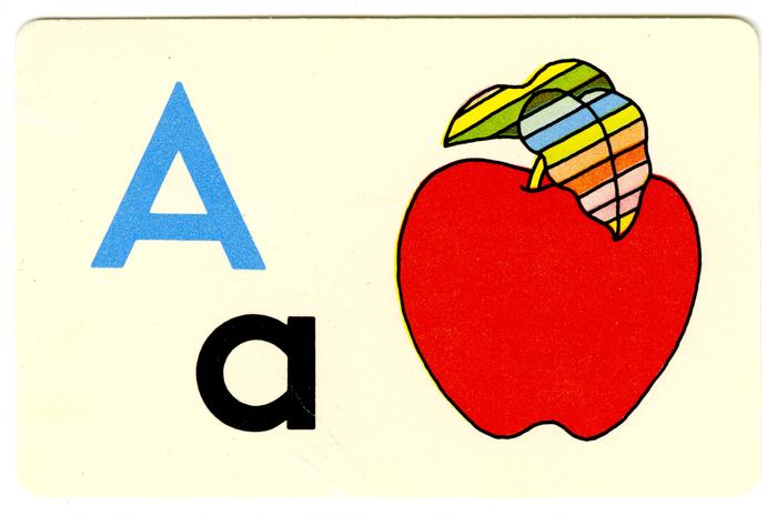 Ed-U-Cards alphabet flash cards 1