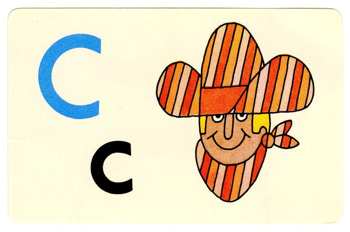 Ed-U-Cards alphabet flash cards 2