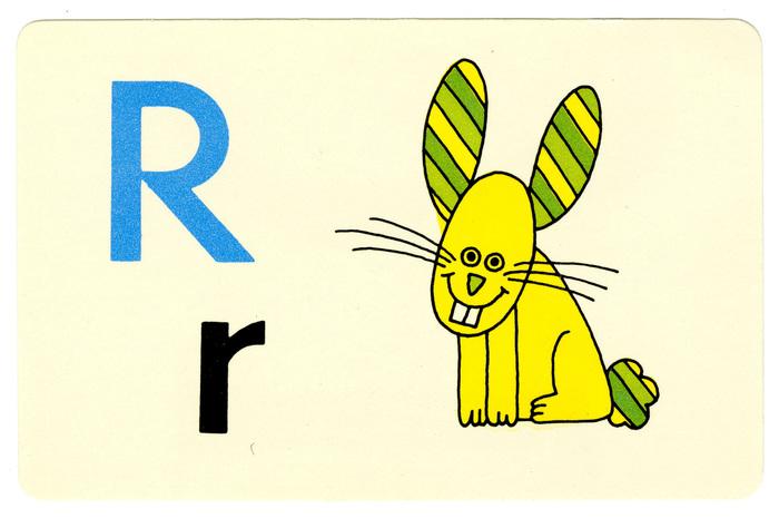 Ed-U-Cards alphabet flash cards 6