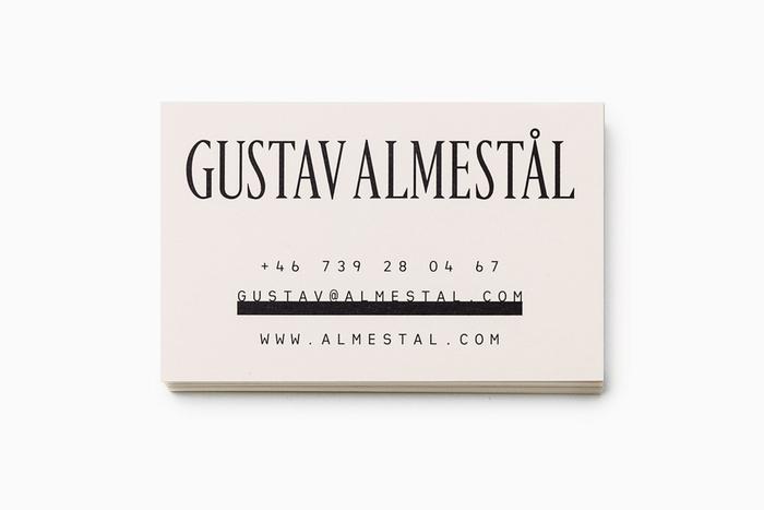 Gustav Almestål 1