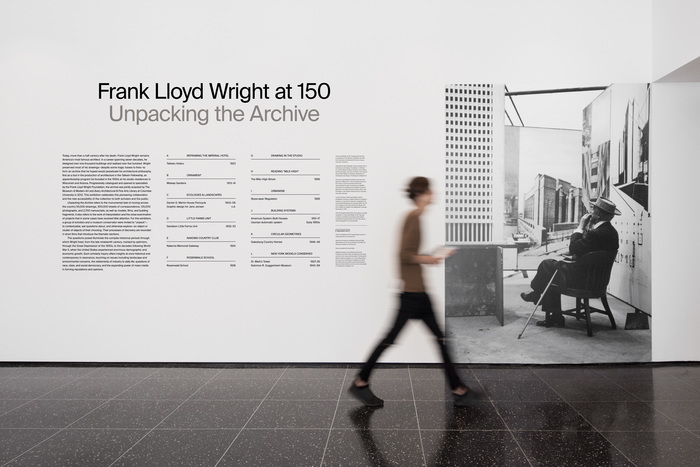 Frank Lloyd Wright at 150: Unpacking the Archive 1