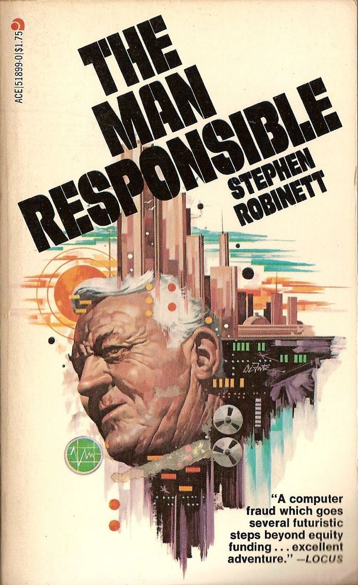 The Man Responsible by Stephen Robinett, Ace Books