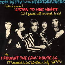 "Tom Petty & The Heartbreakers – ""Listen To Her Heart"" single cover"