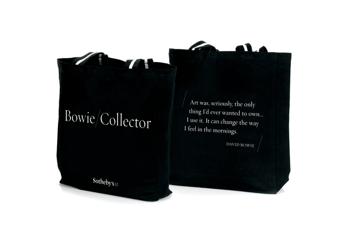Bowie/Collector canvas bags, Requiem Fine for quotation