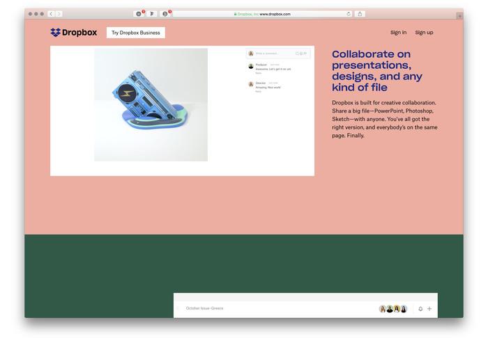 Dropbox identity (2017 redesign) 3