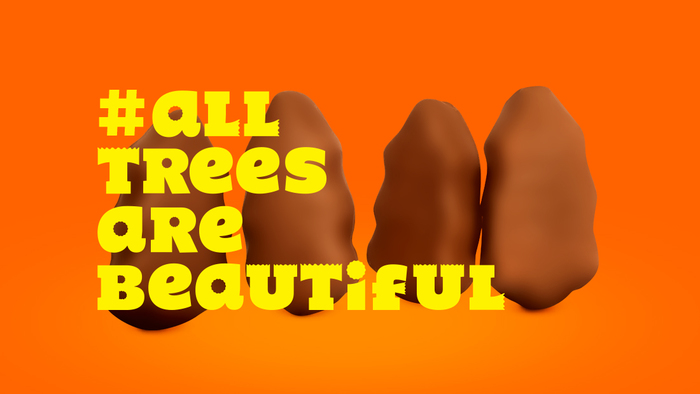 Reese's All Trees Are Beautiful 1