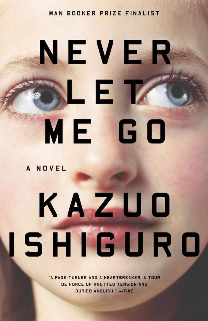 Never Let Me Go by Kazuo Ishiguro, Vintage Books 2