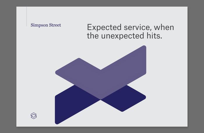 Simpson Street identity & website 6