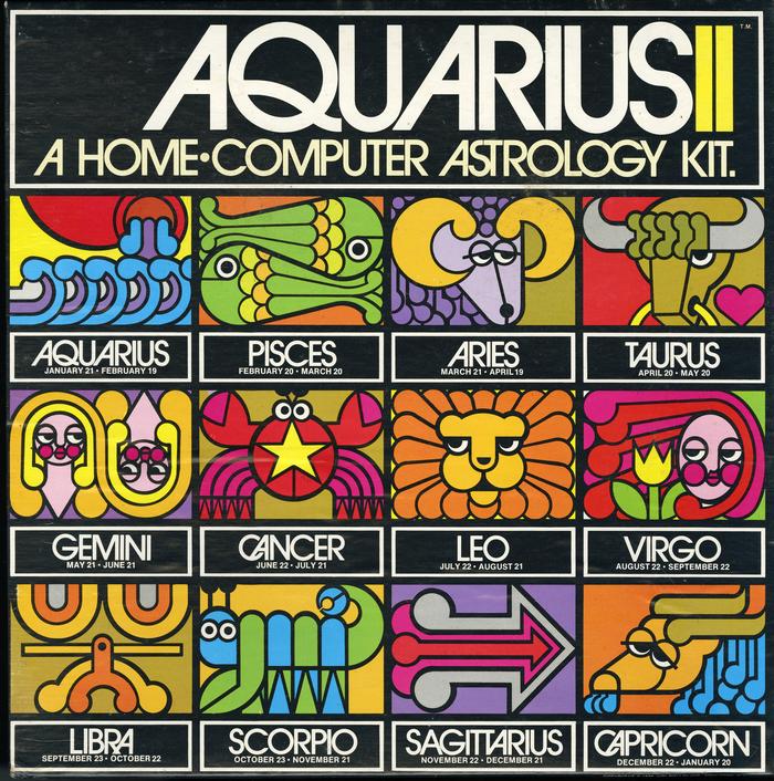 Aquarius II – A Home-Computer Astrology Kit 1