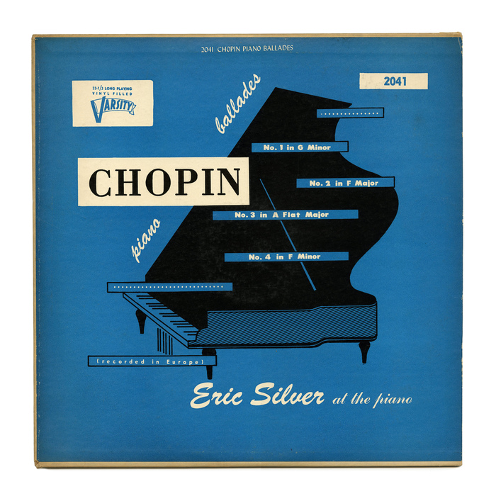 Eric Silver – Chopin Piano Ballades