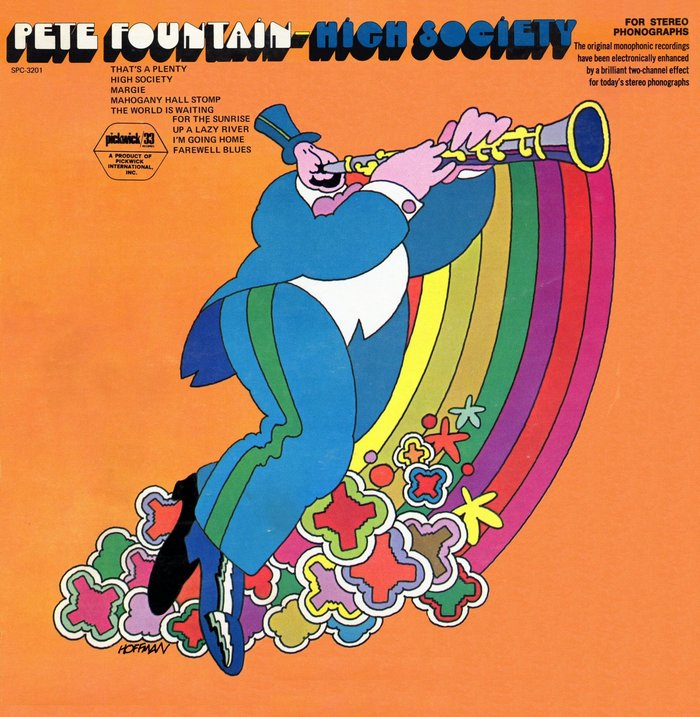 Pete Fountain – High Society album art 2