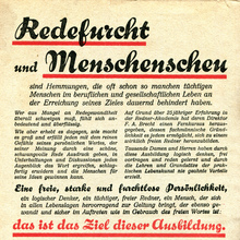 Verlag R. Halbeck ad for rhetoric courses