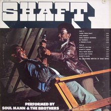 Soul Mann &amp; The Brothers – <cite>Shaft </cite>album art