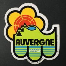 Auvergne sticker