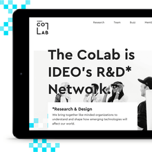 IDEO CoLab website