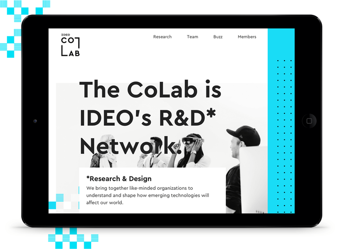 IDEO CoLab website 1