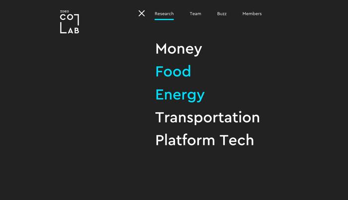 IDEO CoLab website 13