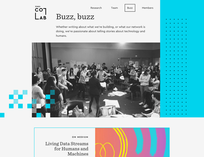 IDEO CoLab website 16