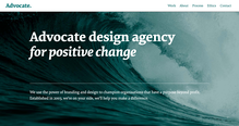 Advocate design agency