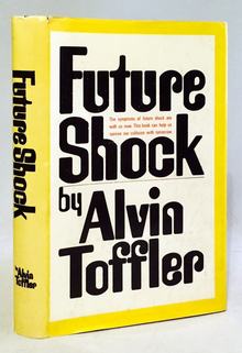 <cite>Future Shock</cite> by Alvin Toffler, Random House edition (and subsequent uses)
