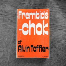 <cite>Fremtidschok</cite> by Alvin Toffler, Samleren edition